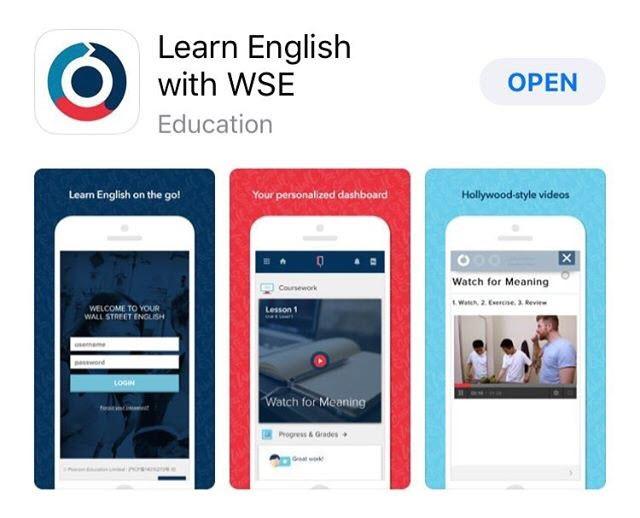 Apprendre l'anglais avec WSE